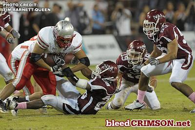 New Mexico State vs. New Mexico (10/09/10) - Tim Barnett-Queen