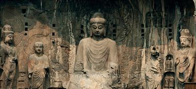 Longmen Grottoes, Luoyang 龙门石窟 (2000)