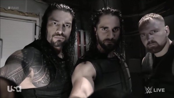The Shield - Screencaps / Raw backstage Promo (Oct. 8, 2018)