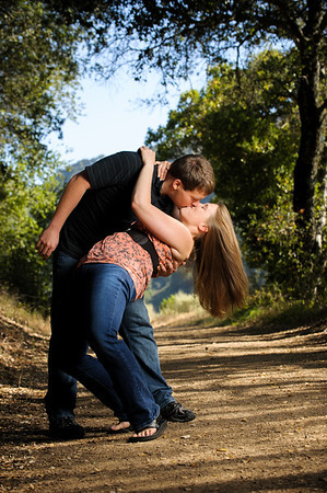 Stephanie and Kevin (Engagement Photography, Quicksilver Almaden Park, San Jose, California)
