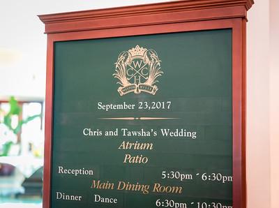 Chris & Tawsha Moreno Wedding
