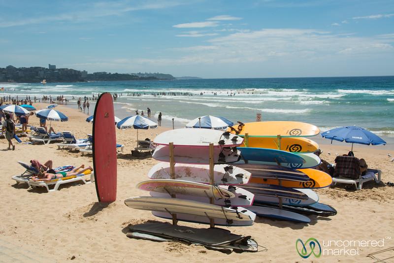 Manly Beach, Surfs Up - Sydney, Australia