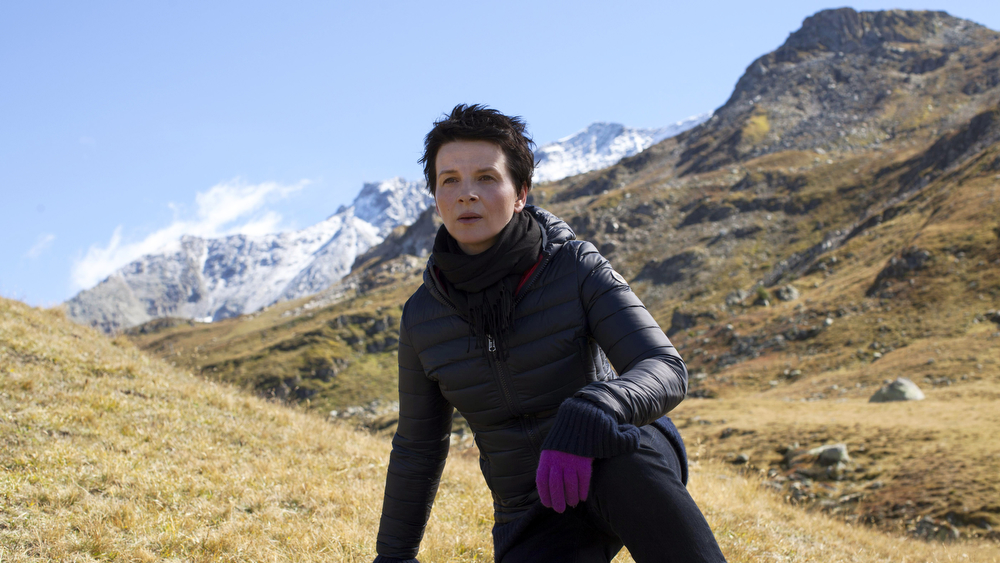 ". This image released by Cannes Film Festival shows Juliette Binoche in a scene from ""Clouds of Sils Maria.\"" (AP Photo/Cannes Film Festival)"
