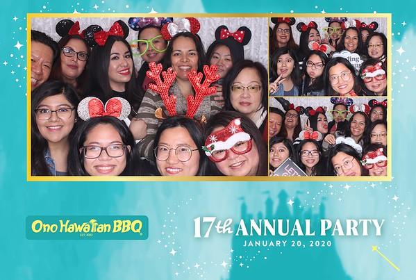 17th Annual Ono Hawaiian BBQ Party