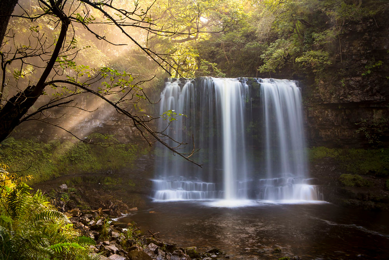Waterfall Brecon Beacons