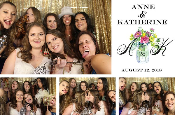 Annie & Katherine Wedding Day - 8.12.18 - Photo Stips