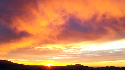 2018-12-10 Drone Sunset