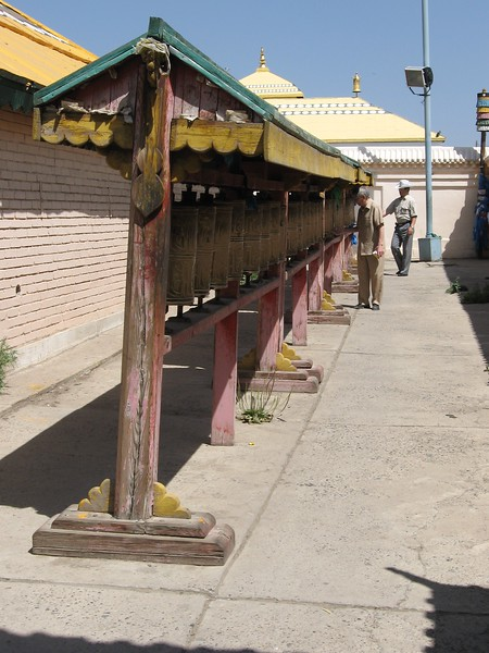 Turning the Prayer Wheels - Leslie Rowley