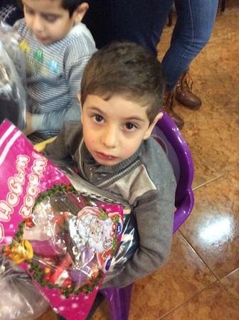 Primate Visits FAR Children's Center in Yerevan, December 2016