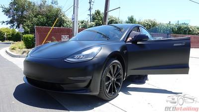 Tesla Model 3 - Solid Black - XPEL Stealth (2)
