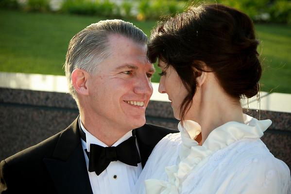 Martine and John Weber