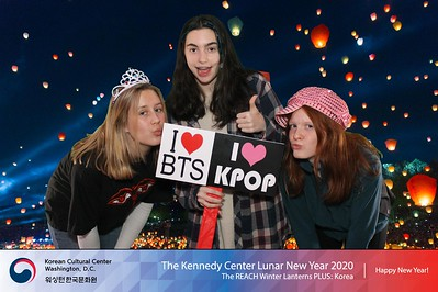 Kennedy Center Lunar New Year 2020 - REACH Winter Lanterns PLUS Korea: Day 1