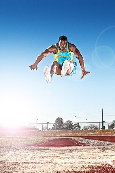 College Triple Jumper