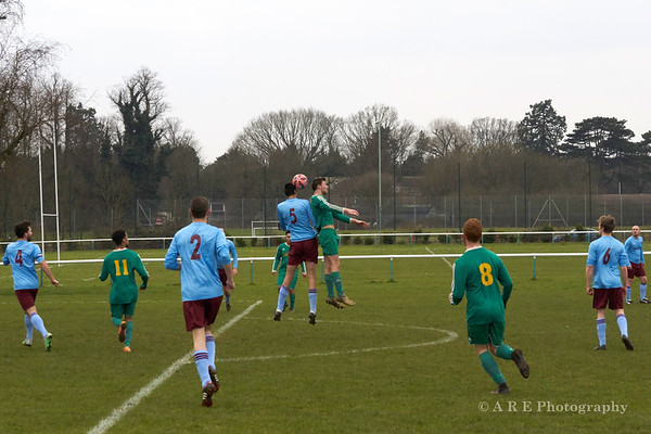 West Herts Jnr Charity Cup semi final: