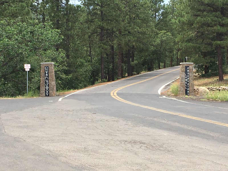 Entrance to Lowell Observatory (2017)