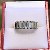 2.35ctw 7-Stone Step Cut Diamond Band 7