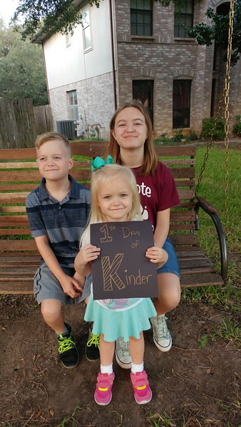 Makayla, Ian and Makenzi | Kindergarten, 5th and 8th | Block House Creek Elementary School and Wiley Middle School