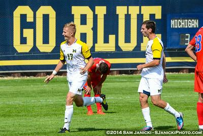Best of UM Men's Soccer Vs SMU 8-31-14