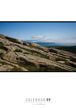 2009 calendar Glimpses of Acadia