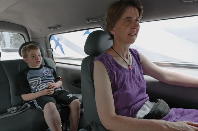 Purer Luxus: Wir haben einen Führer und einen Fahrer ganz für uns.