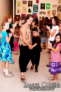 Family Contra Dance with The City Chickens! 8/31/11