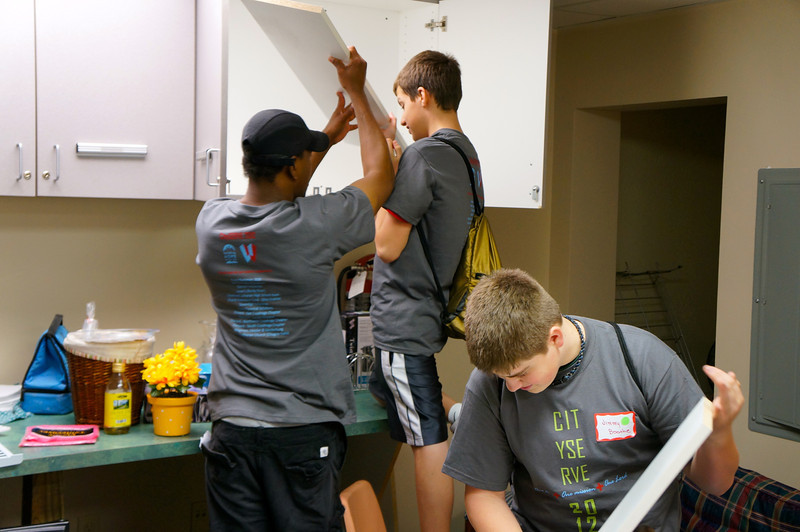 City Serve 2012: Family Ministry Center on Fulton Road in Cleveland