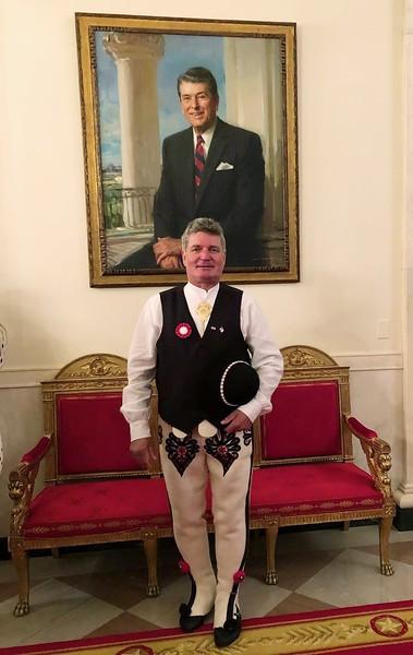 Wizyta prezesa ZPPA Józefa Cikowskiego w Białym Domu