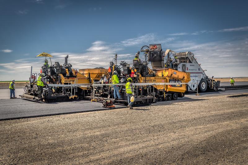 Runway Reconstruct - Grant County Airport - Moses Lake Washington - 2020