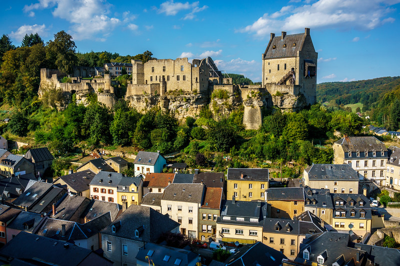 Larochette Castle.
