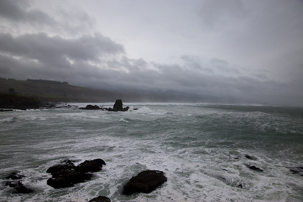 Stormy Weather - mid-winter on the coast