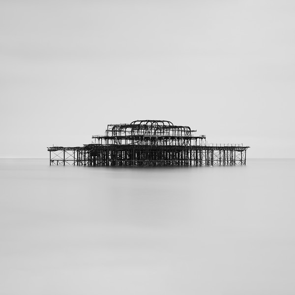West Pier Monochrome