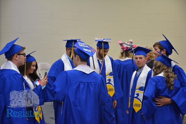 Iola High School graduation 2019