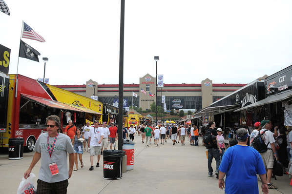 NASCAR/Atlanta Motor Speedway Sept. 2011