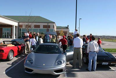 Missouri Ferrari Car Club Cruise
