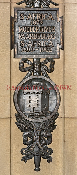 Regimental Bay, Princess Louise's Argyle and Sutherland Highlanders, Detail Battle Honours