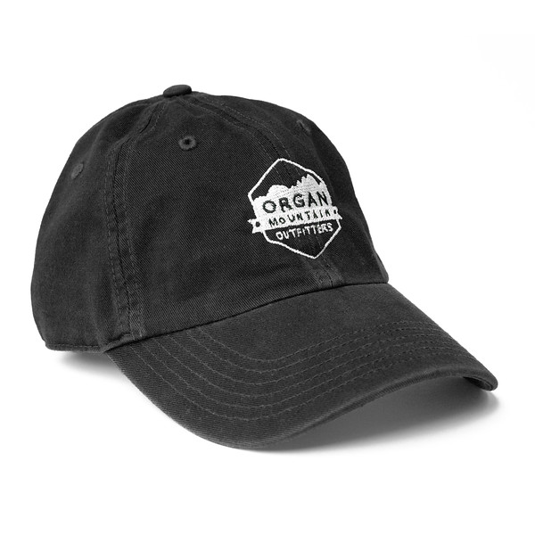 Outdoor Apparel - Organ Mountain Outfitters - Hat - Dad Cap Classic Logo - Black.jpg