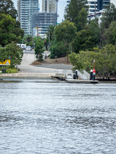 Meadowbank : Vehicular Ferry Service Remains