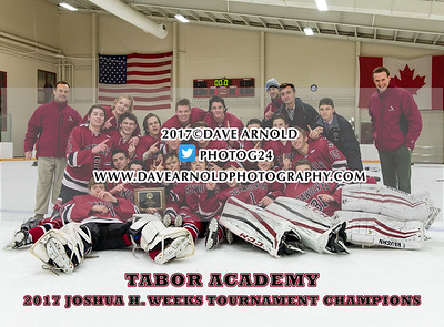 1/2/2017 - Boys Varsity Hockey - Weeks Tournament Final - Stanstead College vs Tabor