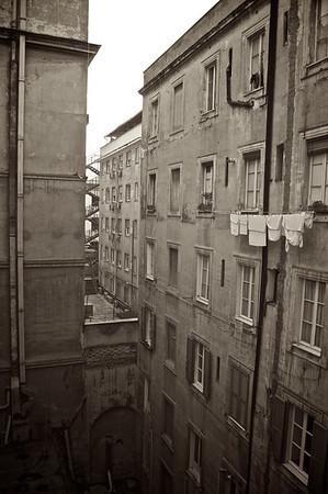 Alleyways & Laundry - Rome, Italy