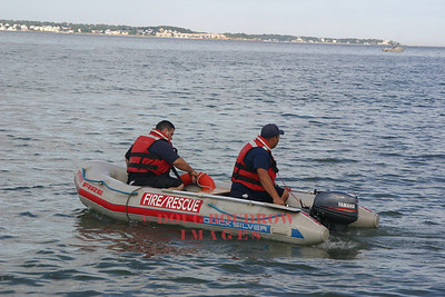 Revere, MA - Water Incident, Revere Beach, 8-16-06