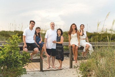 Clark Family Ponce Inlet Beach