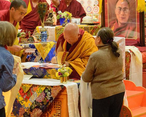 Khensur Gyumed Lobsang Jampa Rinpoche