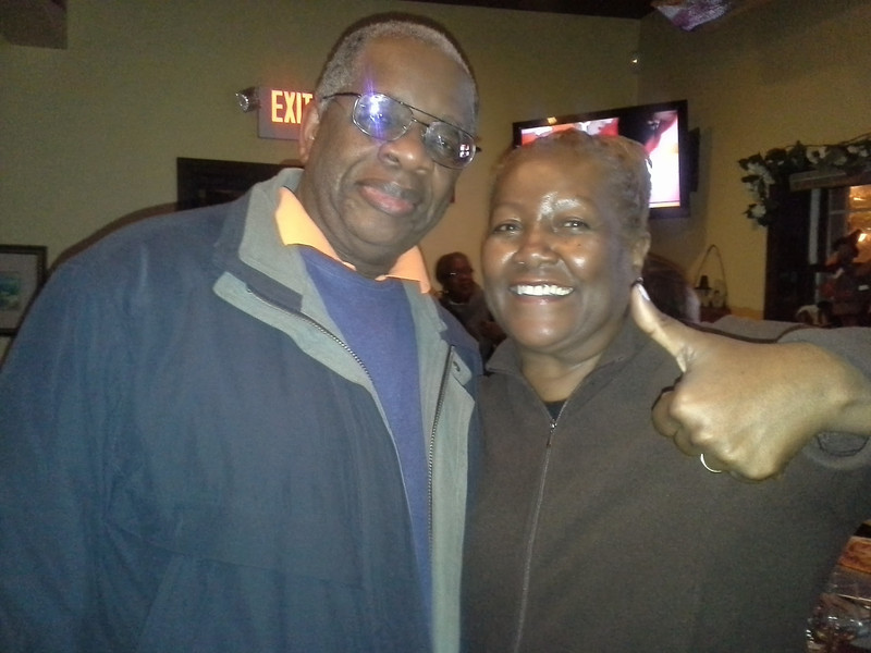 Gregory Burrus with Johanna Wright Newly Elected School Board Member election Party at Bunnies Restaurant S.O. NJ.jpg.jpg