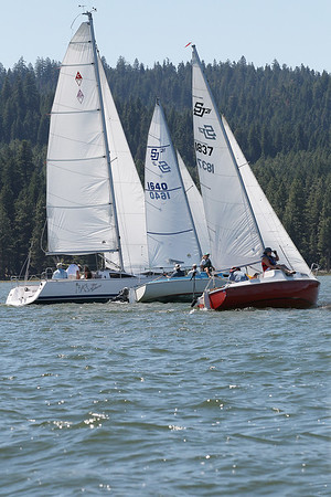 2017 Southern Cascade Regatta Saturday racing