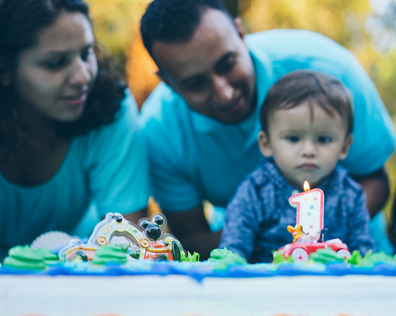 Baby miguel's 1st bday