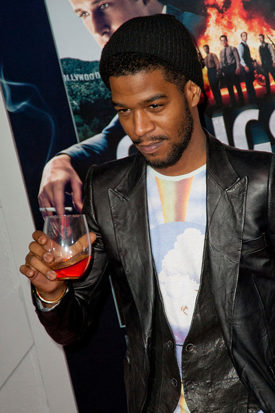 HOLLYWOOD, CA - JANUARY 07: Kid Cudi arrives at Warner Bros. Pictures' 'Gangster Squad' premiere at Grauman's Chinese Theatre on Monday, January 7, 2013 in Hollywood, California. (Photo by Tom Sorensen/Moovieboy Pictures)