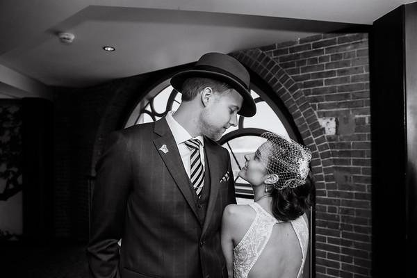 Marie & Brendan's December Liberty Hotel Wedding