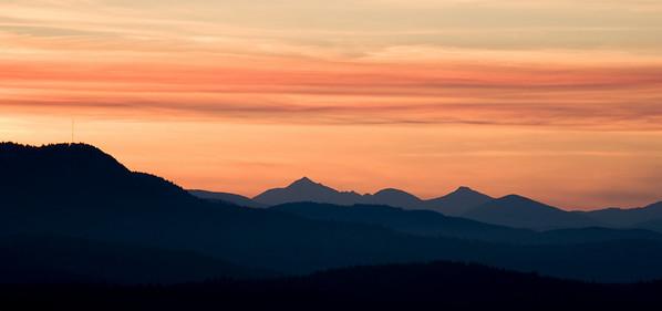 From Mount Douglas