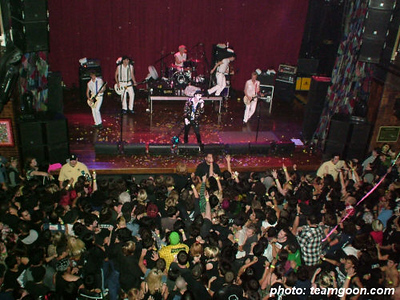 The Adicts - Bang Sugar Bang - So Unloved - The Diffs - at House of Blues - Anaheim, CA - November 6, 2005