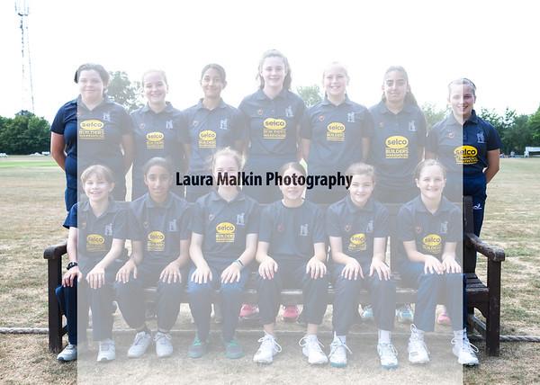 Warks U13 Girls v Oxfordshire U13 Girls